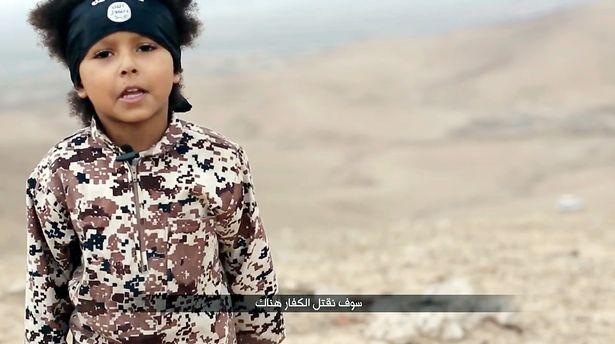 Bambino dell'Isis