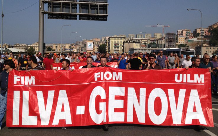 Proteste Ilva a Genova