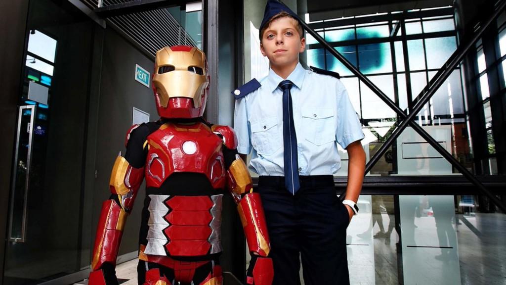 Iron Boy e il colonnello Rhodes