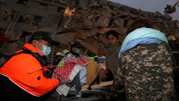 Terremoto a Tainan