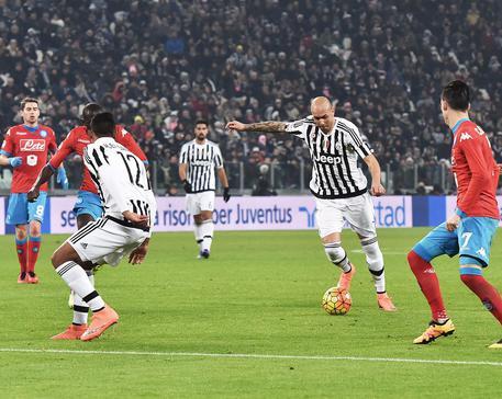 Gol Zaza. (PHOTO BY: www.ansa.it)