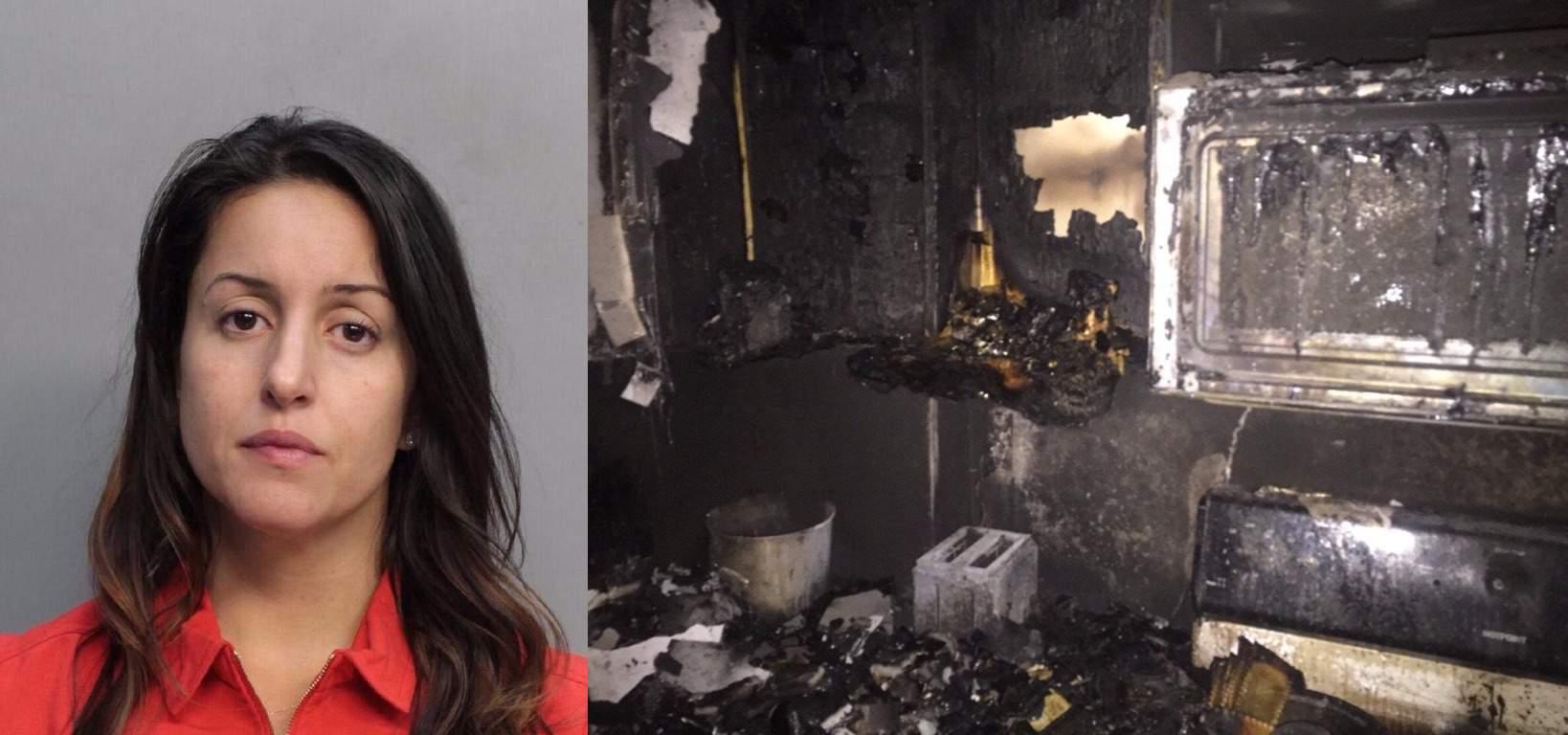Giornalista abbandona figlia in casa per salvarsi dall'incendio