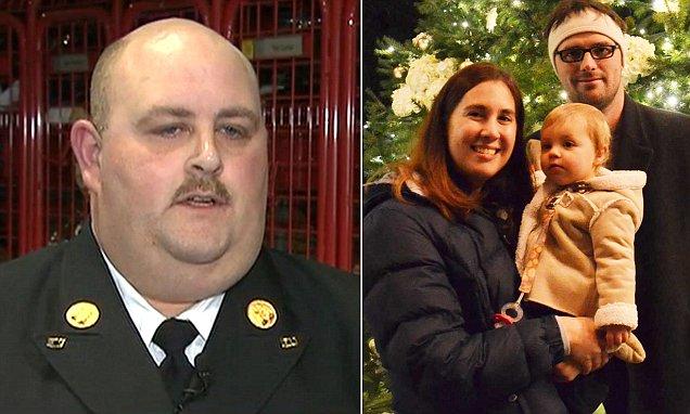 Pompiere salva una bimba e viene sospeso