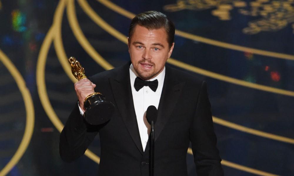 DiCaprio dimentica l'Oscar