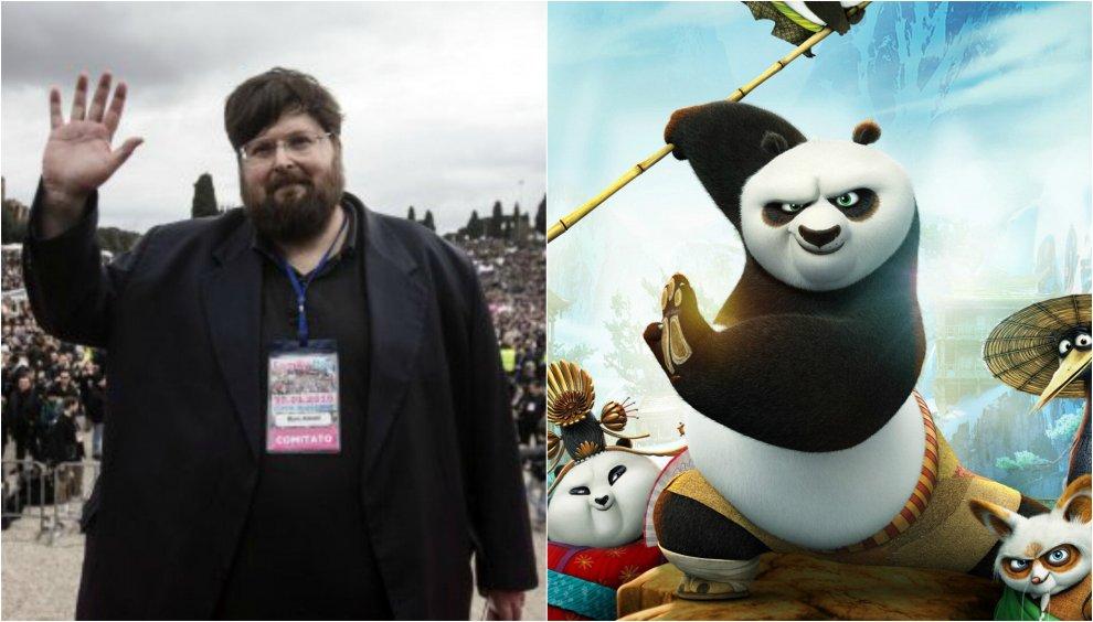 Adinolfi vs Kung Fu Panda