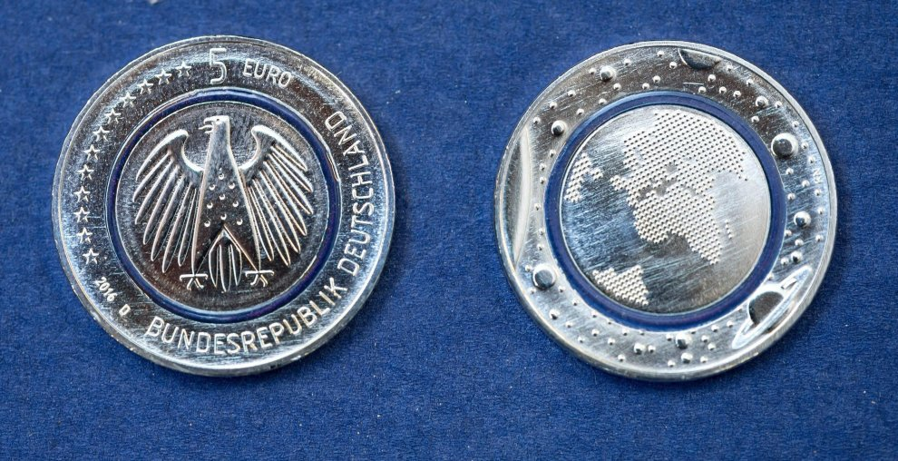 La moneta da 5 euro