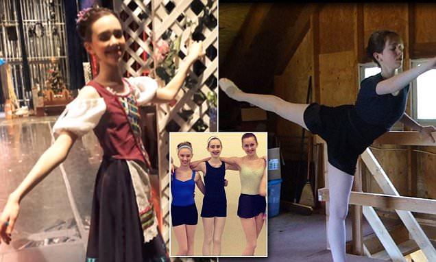 Christin, la ballerina anoressica