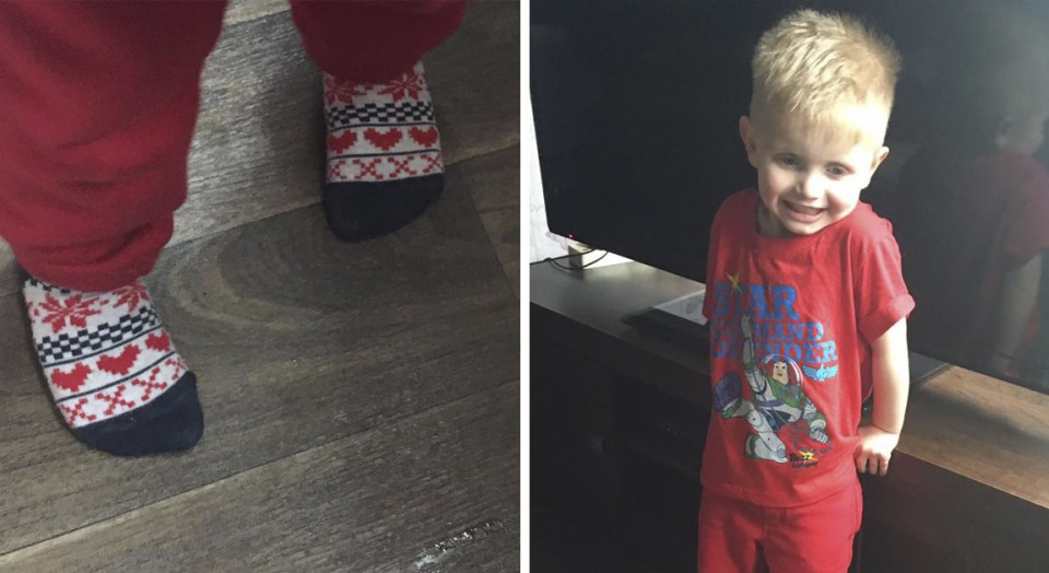 Bambino indossa calze con cuoricini: ecco cosa è accaduto all'asilo