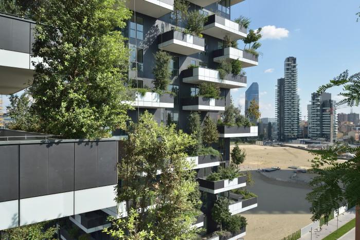 Il bosco verticale, esempio di case di lusso