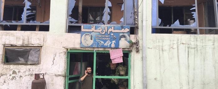 Attentato a Kabul, un negozio coinvolto nell'esplosione