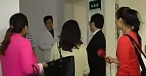 Alcune fidanzate del moderno Casanova in ospedale