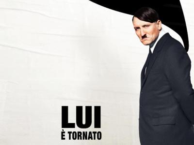 Hitler nel poster promozionale