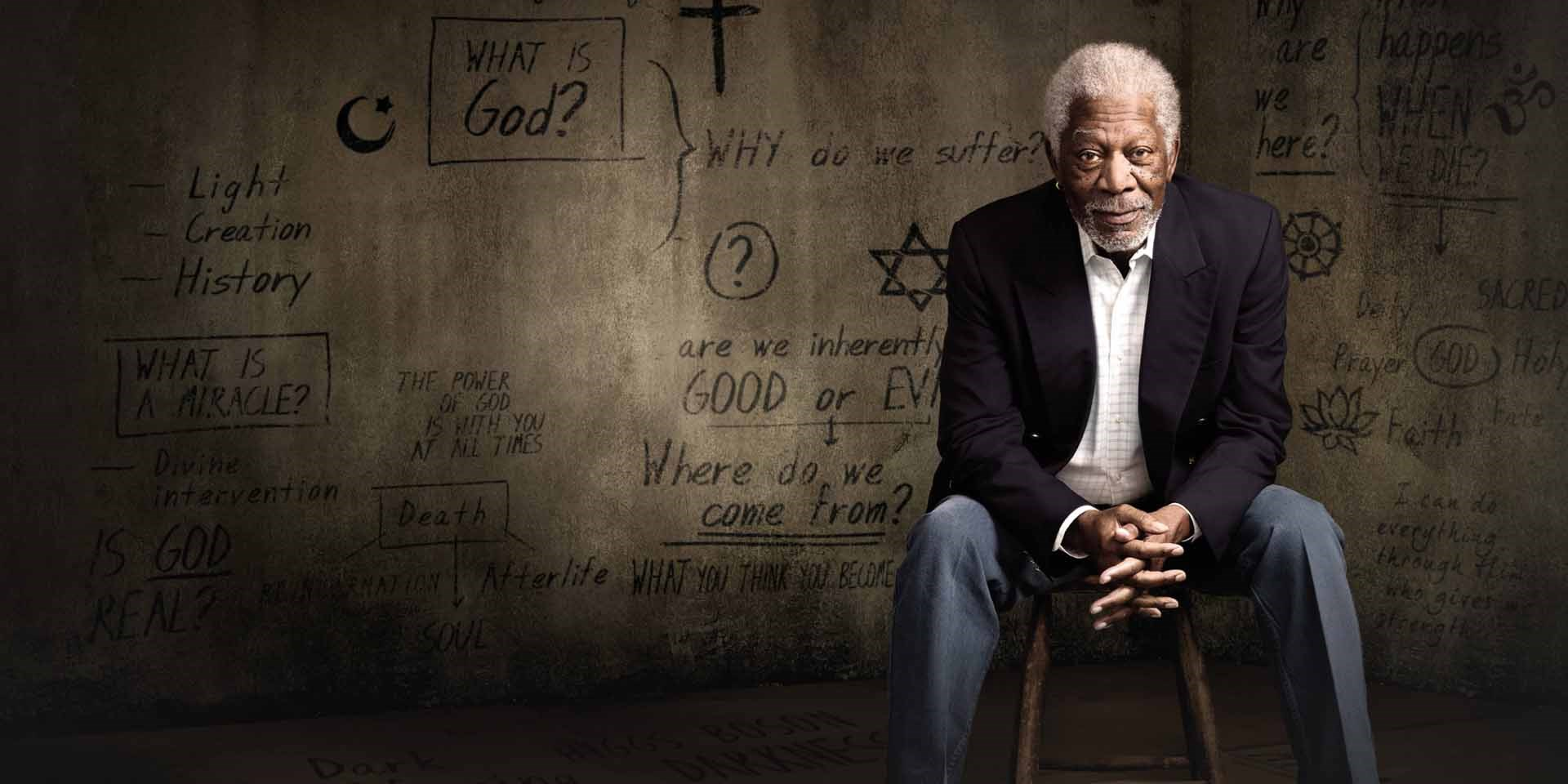 Morgan Freeman conduce documentario sulla storia di Dio