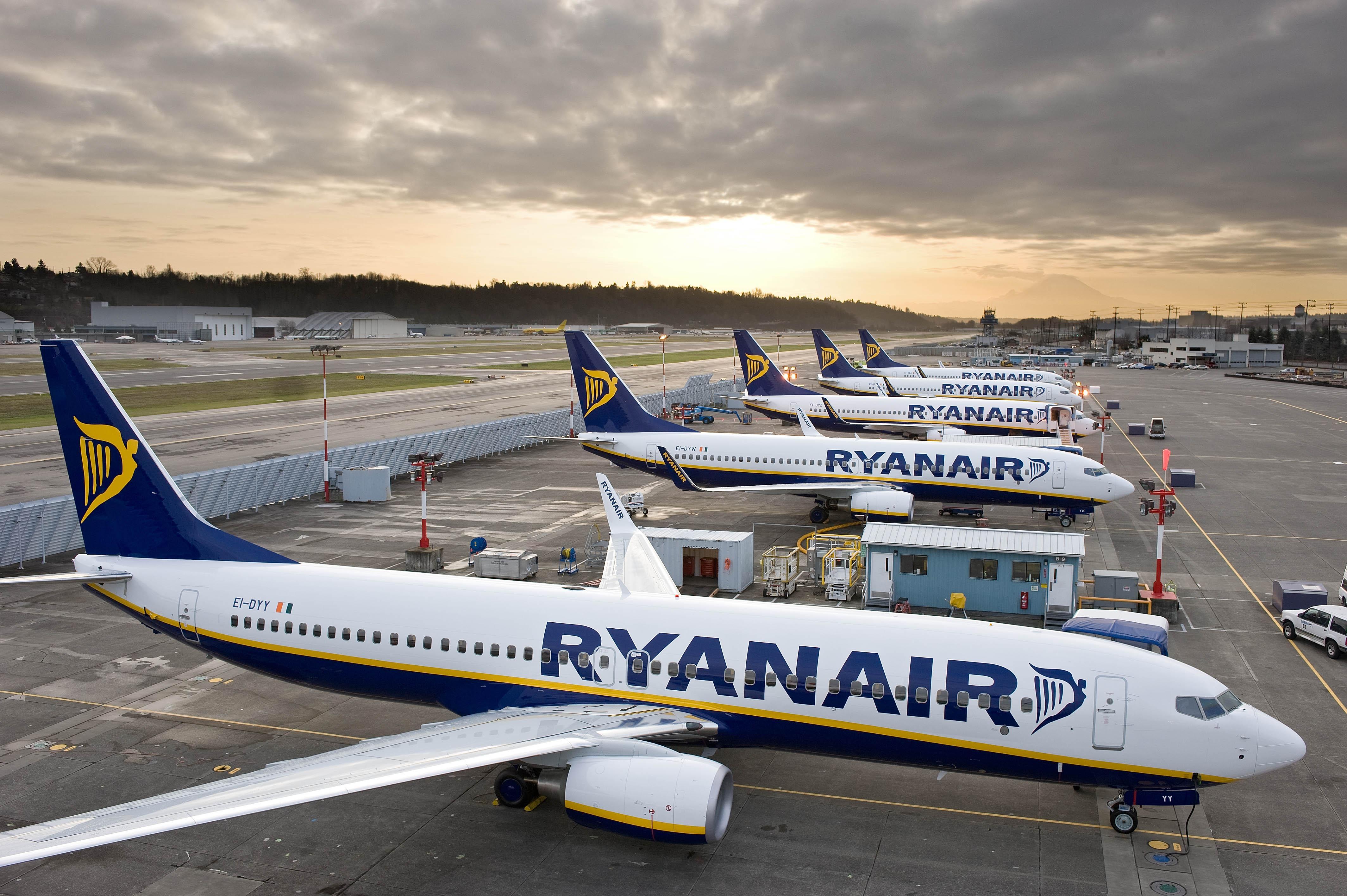Ryanair cancella voli di domani da/per la Grecia