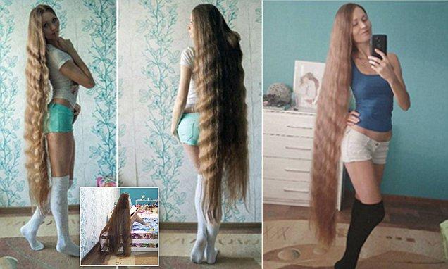 Non taglia i capelli da 13 anni, ecco il risultato