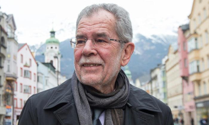 Alexander Van der Bellen ha vinto le elezioni presidenziali