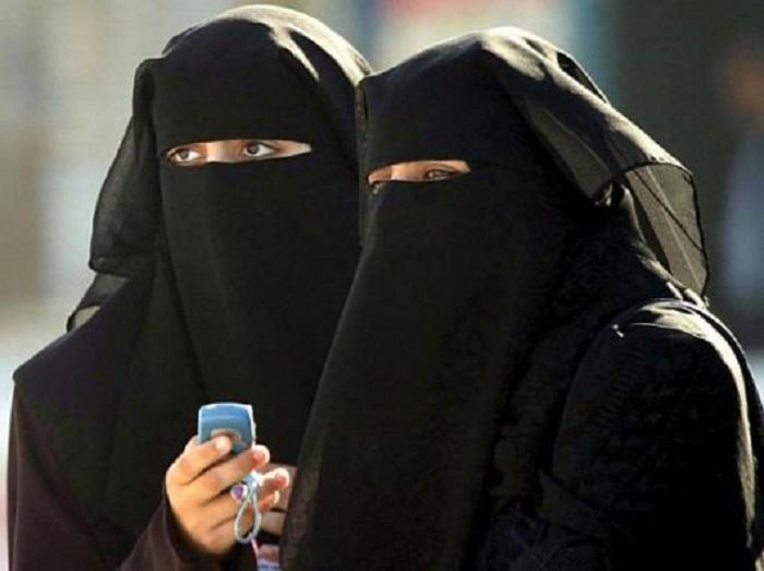 Donne con il burqa