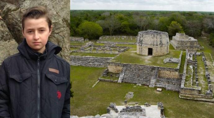 15enne scopre antica città Maya