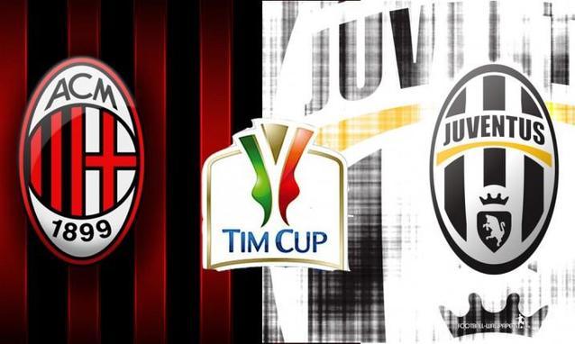 Coppa Italia: Milan-Juventus