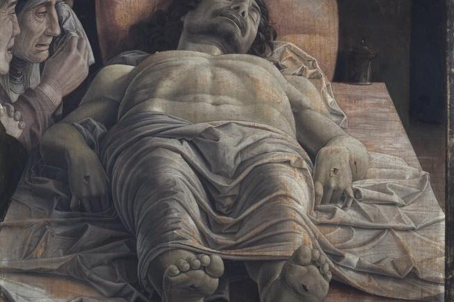 Cristo Morto di Mantegna