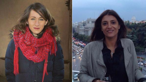 Carlotta Antoniotti ed Emanuela Palmerini