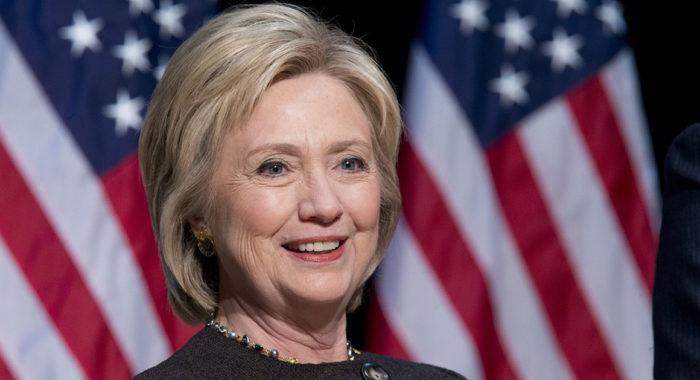 Hillary Clinton, candidata democratica alle elezioni Usa