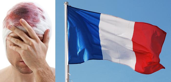 Italiano parla solo francese dopo trauma cranico