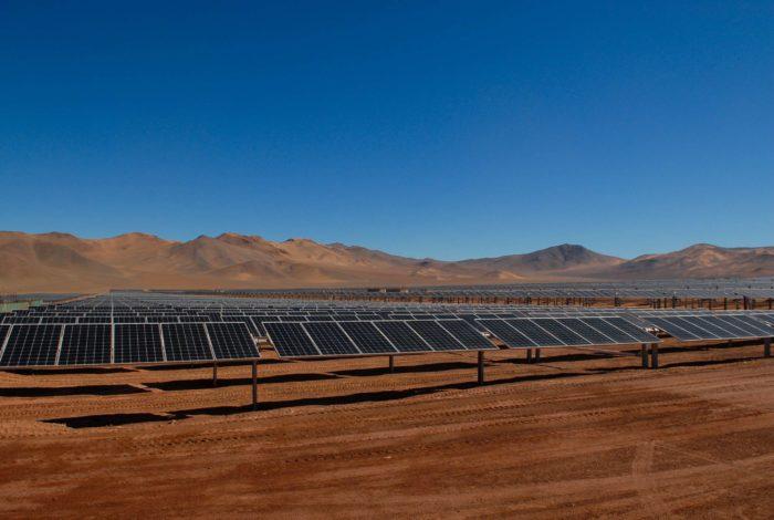 Una centrale fotovoltaica in Cile