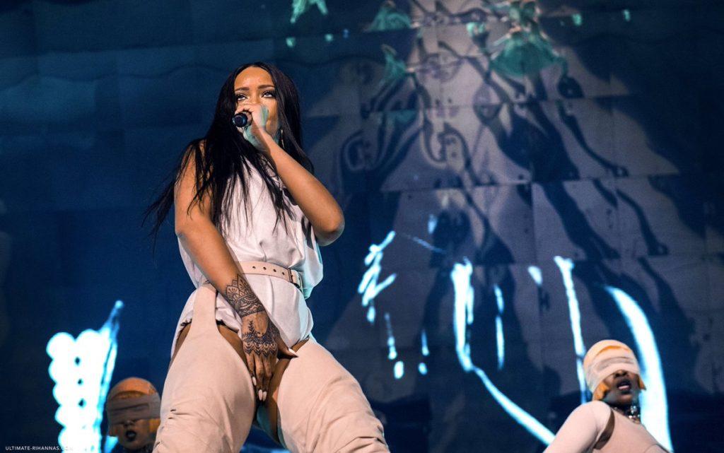 Rihanna a Milano