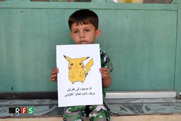 Siria, l'appello dei bambini