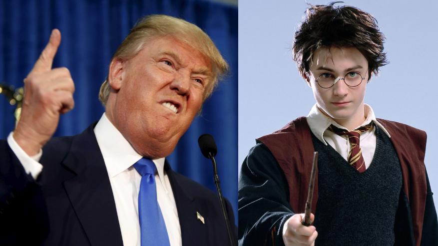 Harry Potter minaccia campagna elettorale di Trump