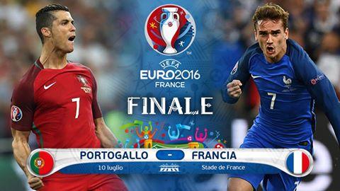 Euro2016: la finale di calcio
