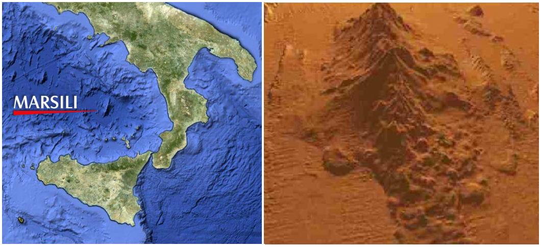 Marsili, vulcano sottomarino che potrebbe causare uno tsunami