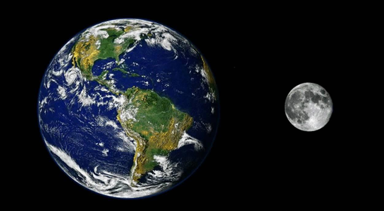 """La Luna è un """"costola"""" della Terra"""