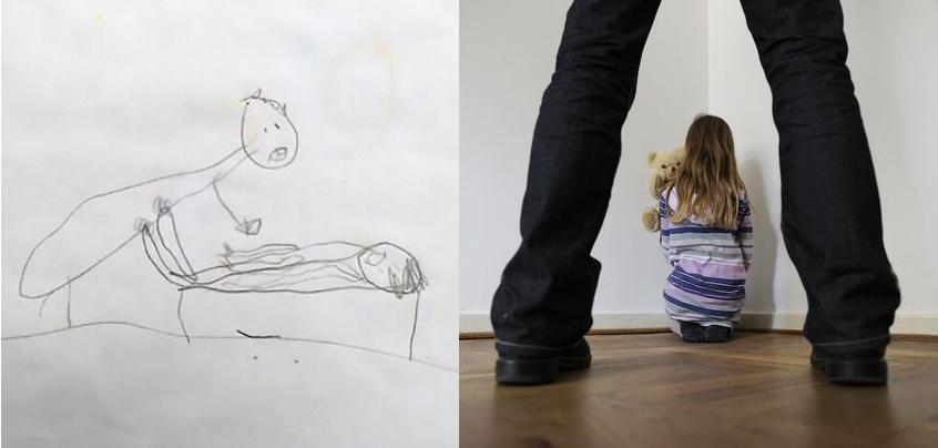 Prete abusa di una bimba di 5 anni: incastrato dai disegni della piccola