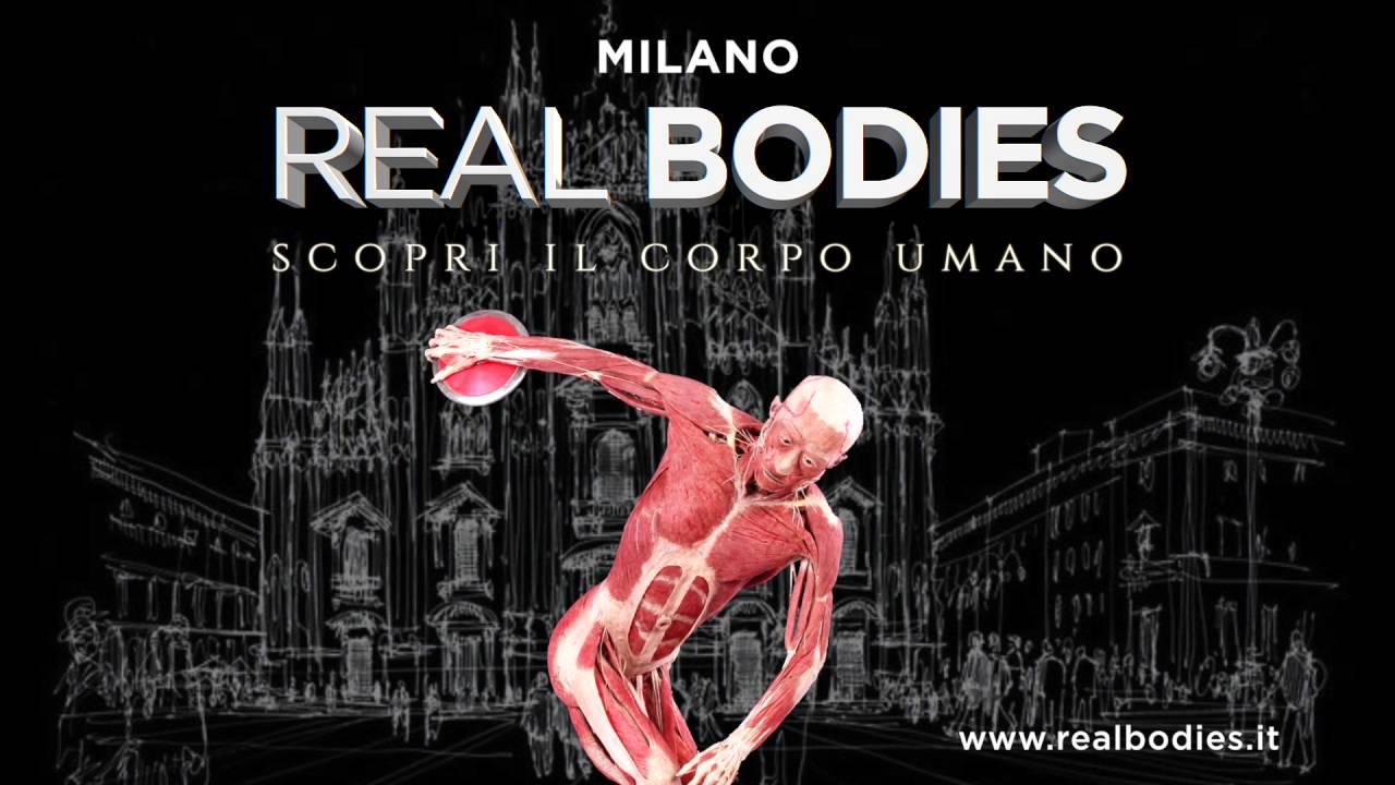 Real Bodies: la mostra sul corpo umano a Milano