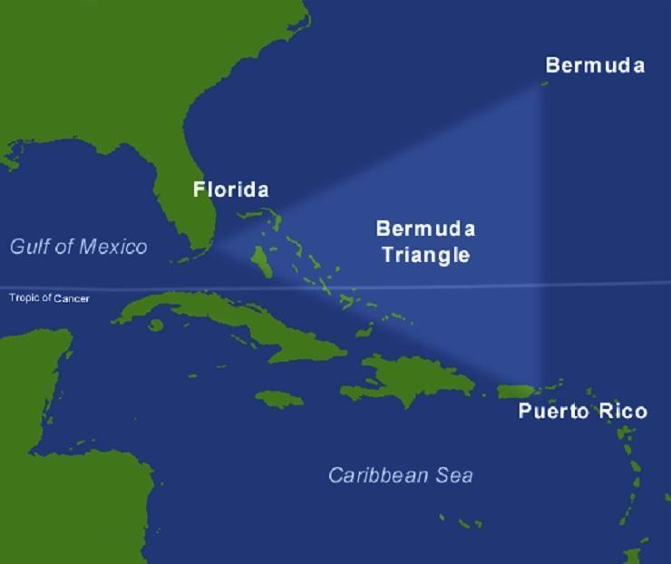 Risolto mistero del Triangolo delle Bermuda