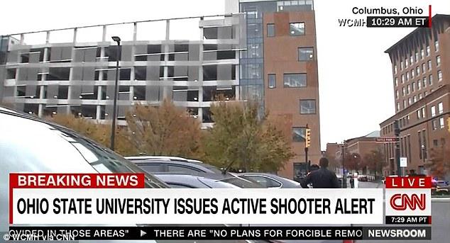 Sparatoria nel campus dell'Ohio University: 9 feriti