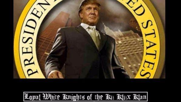 Ku Kulx Klan e Trump