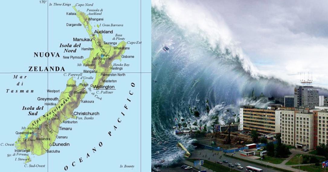 Nuova Zelanda, allarme tsunami dopo terremoto di magnitudo 7,8
