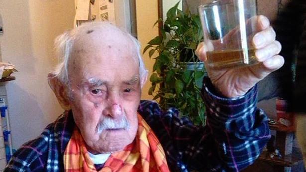 Valerio Piroddi, uomo più vecchio d'Italia