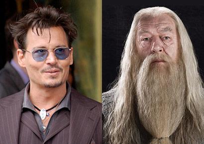 Johnny Depp sarà Silente