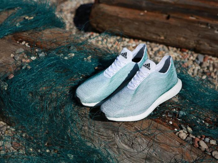 Le scarpe ecosostenibili della Adidas