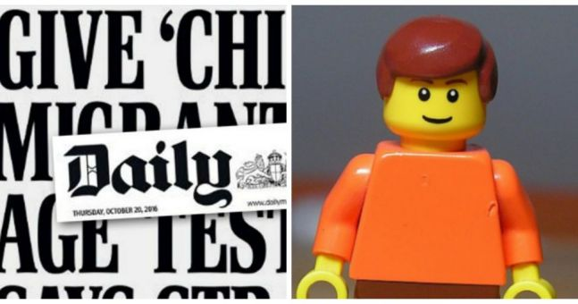 Lego vs Daily Mail
