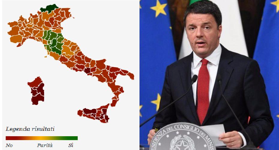 """Referendum Costituzionale: ha vinto il """"NO"""". Renzi si dimette"""
