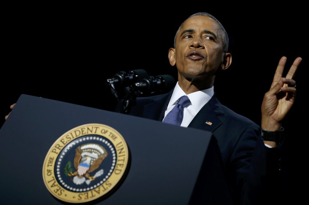 Obama a Chicago per l'ultimo discorso come presidente