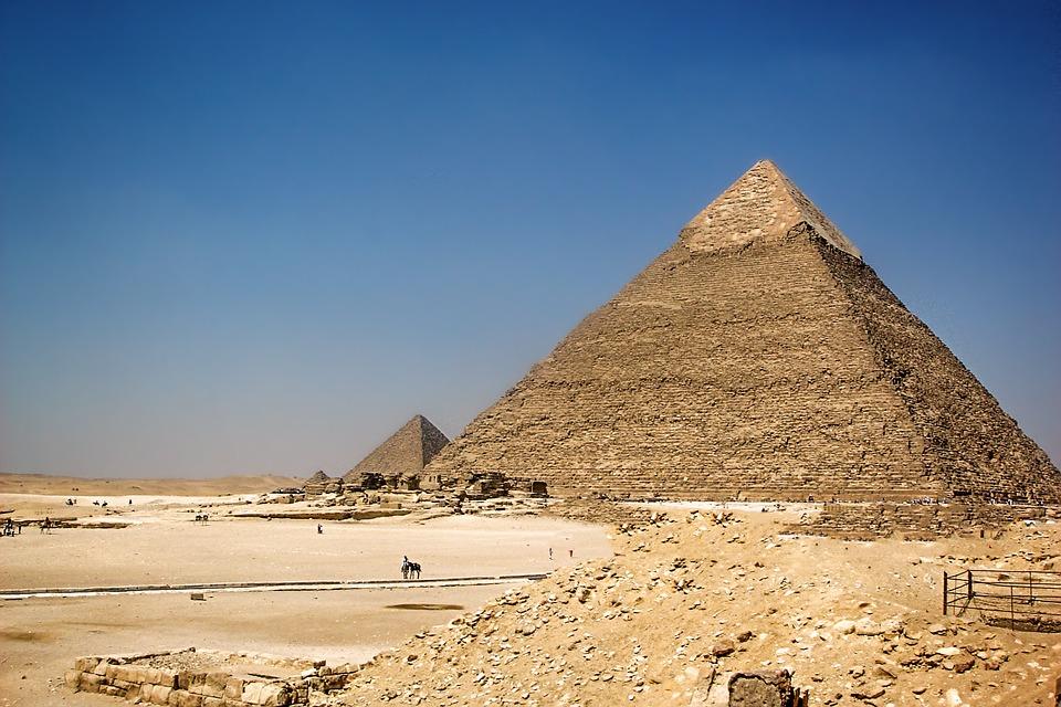 Fine Antico Egitto causata da eruzioni