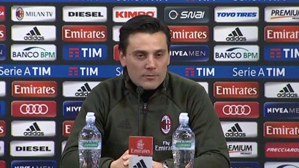 Milan: Montella sempre più a rischio