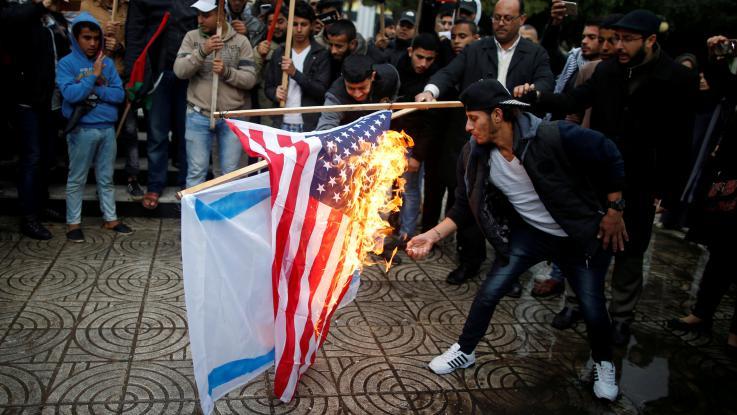 Gerusalemme capitale, la protesta