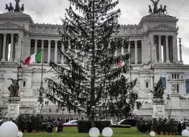 Albero di Natale a Roma